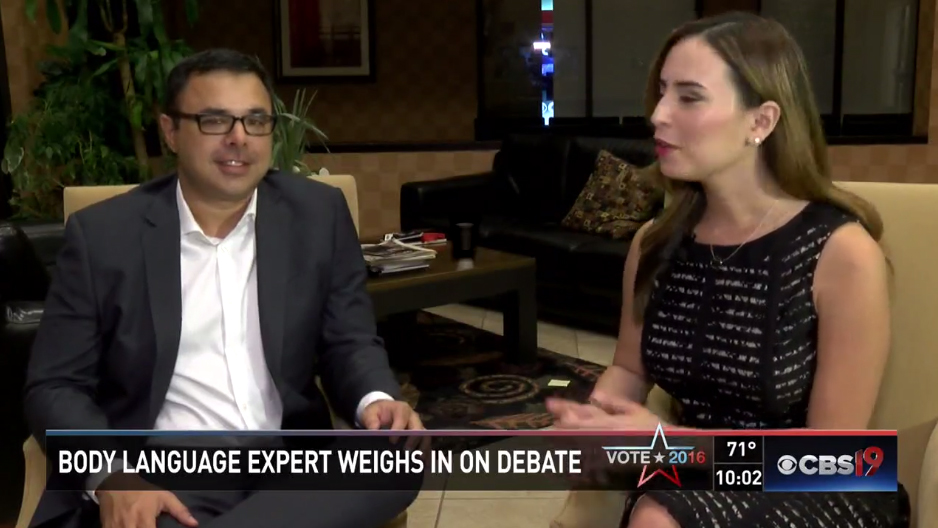 Leo Cardenas Body language expert weighs in on vice presidential debate